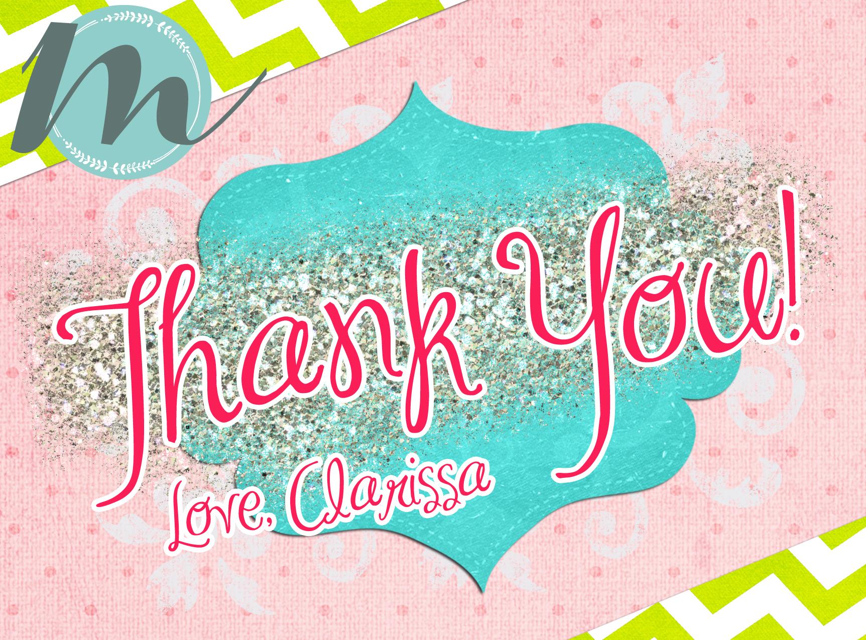 Clarissa_Thank_Front