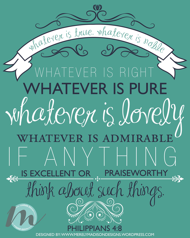 Printable 8″ x 10″ Frameable Encouragement Bible Verse ...
