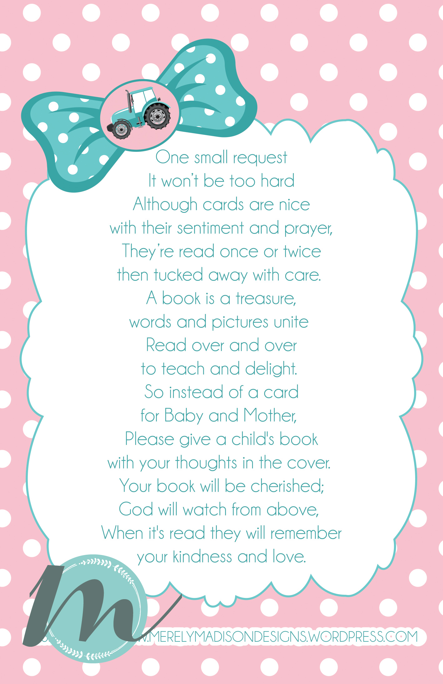 custom baby shower invitation advice card