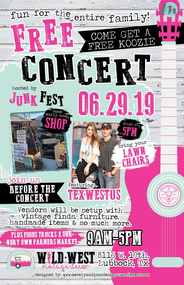 Concert Poster 11 x 17_June